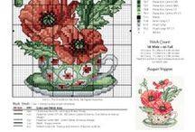 Вышивка. Цветочный календарь-1