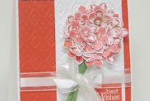 Stampin' Up! Petite Petals / Wonderful ways to make Handmade cards and projects with the Stampin' Up! Petite Petals stamp/punch set