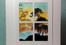 Stampin' Up! Serene Silhouettes / Handmade cards using the Stampin' Up! Serene Silhouettes stamp set
