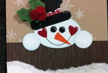 Christmas / Handmade Christmas cards and craft projects