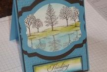 Stampin' Up! Lovely as a Tree / Handmade cards using the Stampin' Up! Lovely As a Tree stamp set.