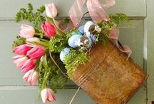 Easter/Spring Cards & Decor / Cards and Decorating for the spring holidays.