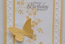 Stampin' Up! Thoughts & Prayers / Handmade cards using the Stampin' Up! Thoughts and Prayers stamp set.