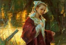 Daniel Gerhartz / Art by Daniel Gerhartz Wisconsin artist born in 1965. Idealism is evoked in his subjects and their clothing. His canvases give very powerful visual experiences.