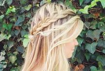 Hairstyles / hair colour,different styles. some elaborate and some simple...