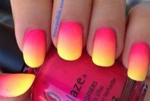 Ombre, Stripes, nail polishes and more / <3 nails. all different kind of nails, nail trends and more