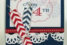 Patriotic Cards/Celebrations USA / Celebrate the USA with cards, crafts, food and decorations