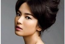 Updo Heaven / Find your next perfect undo here! Book on LookBooker and schedule your next hair consultation to try one of these looks today! www.lookbooker.co (NYC) and www.lookbooker.com.sg (Singapore)