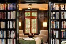 Livros, bibliotecas, livrarias