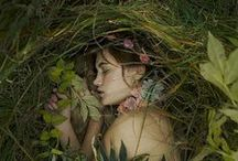 Woodland Muses... /  Woodland muses..Nymphs Dryads, Woodland sprites..& Forest maidensFaeries