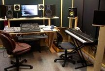 :: Studio Designs :: / - which we'll be looking at for our new studio, watch this Space !! / by :: Lewis Hamilton Music ::