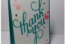 Stampin' Up! Another Thank You / Cards & projects made with Stampin' Up's Another Thank You stamp set