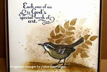 Stampin' Up! Trust God / Handmade cards & projects created with the Stampin' Up Trust God stamp set.