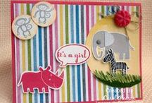 Stampin' Up! Zoo Babies / Handmade cards and projects using the Stampin' Up Zoo Babies Stamp set