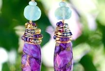 Beaded Earrings / Handmade Beaded Earrings