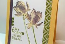 Stampin' Up! Lotus Blossom / Cards using the Lotus Blossom stamp set