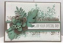 Stampin' Up! Timeless Textures / Handmade cards with the Stampin' Up! Timeless Textures stamp set