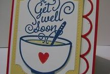 Stampin' Up! Get Well Soup / Handmade creations with the Stampin' Up! Get Well Soup stamp