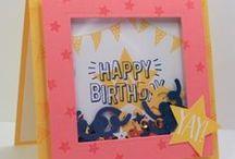 Stampin' Up! Confetti Celebration / Creative projects and cards using the Stampin' Up! Confetti Celebration stamp set