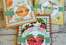2016-17 SU Catty Samples / Sample cards and projects from the 2016 -17 Stampin' Up! annual catalog