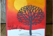 Stampin' Up! Thoughtful Branches / Projects and cards using the Stampin' Up! Thoughtful Branches stamp set