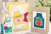 2018 SU Occasions/Sale-a-Bration / Creations with items from the 2018 Stampin' Up! Occasions and Sale-a-Bration catalogs, available Jan. 3, 2018.