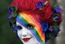 Color the Rainbow  / by Karen McGillivray