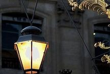Lanterns & Street Lamp / Old & New / by Karen McGillivray