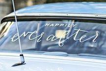 Autonkoristelu / Wedding car decorations