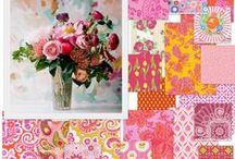 Florals / Beautiful and feminine floral fabrics never go out of style.