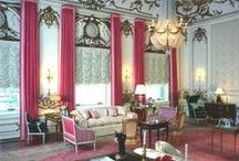 French Inspired / French rooms and fabrics