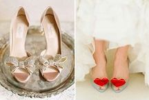 Wedding Footwear is so important! / The perfect shoe can lift the soul.