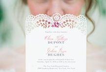 Wedding Stationery / One wedding, many invitations!