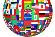 People -----Everywhere in the  WORLD / Geography.......flags,maps,clothing, & customs / by Denise Toliver