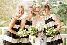 Musta & valkoinen hääjuhlassa / Black and white wedding