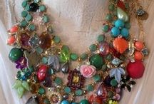 COSTUME JEWELRY FIT FOR A QUEEN / by Paula LeBlanc Miller