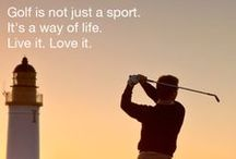Golf Inspiration / There is nothing better than a little golf in your life! #GolfInspiration