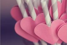 Valentine's Day Wedding Ideas / Inspiration for a Valetine's Day wedding.