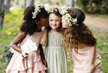 Morsiuslapset - Flower girls and Ring boys / flower girls and ring boys