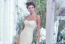 Dream Dresses / Wedding dress inspiration.