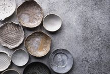 On the table / Ceramic dishes