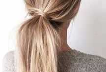 Ponytail Inspiration / Ponytail inspiration board by M+B