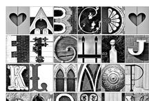 alphabet / abécédaires