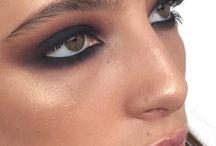 make up & nails.