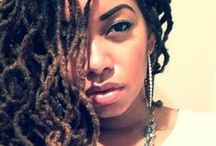 Locs / This board showcases loc hairstyles