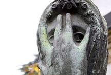 Graveyard / Graveyards are changing, headstones and art combined