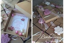 Bonbonieras by Kristallenia Wedding Baptism Parties and more / wedding & vaptism decoration  Event planning  Wedding favors and more Μπομπονιερες γάμου-βάπτισης  Διακόσμηση  Πάρτυ γενεθλίων