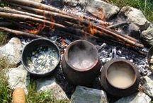 Eten van vroeger / Maak zelf de lekkerste hapjes met recepten uit de Oudheid. Je kunt je met dit bord ook verdiepen in eetgewoontes uit de geschiedenis.