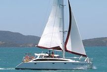 Perry 43 - 3 cabin / Mango Tango Perry 43 sailing Catamaran available for charter in the Whitsundays  www.ccy.com.au