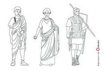 Kleurplaten Romeinen / Op deze pagina vind je allerlei leuke tekenactiviteiten om thuis te doen die te maken hebben met de Romeinen. Een aantal van deze kleurplaten hebben te maken met Rijksmuseum van Oudheden of voorwerpen die te zien zijn in het museum.